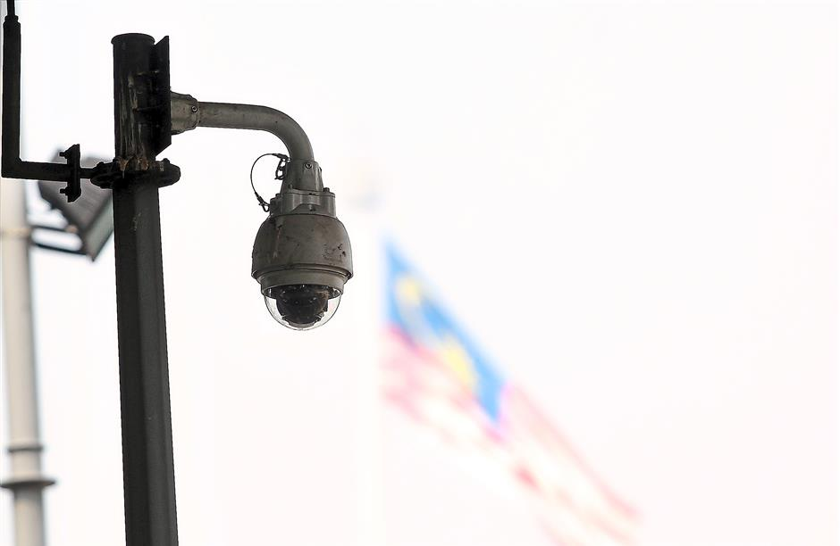 Under the revamped ITIS system, there are a total of 1,000 new CCTV cameras.—filepics