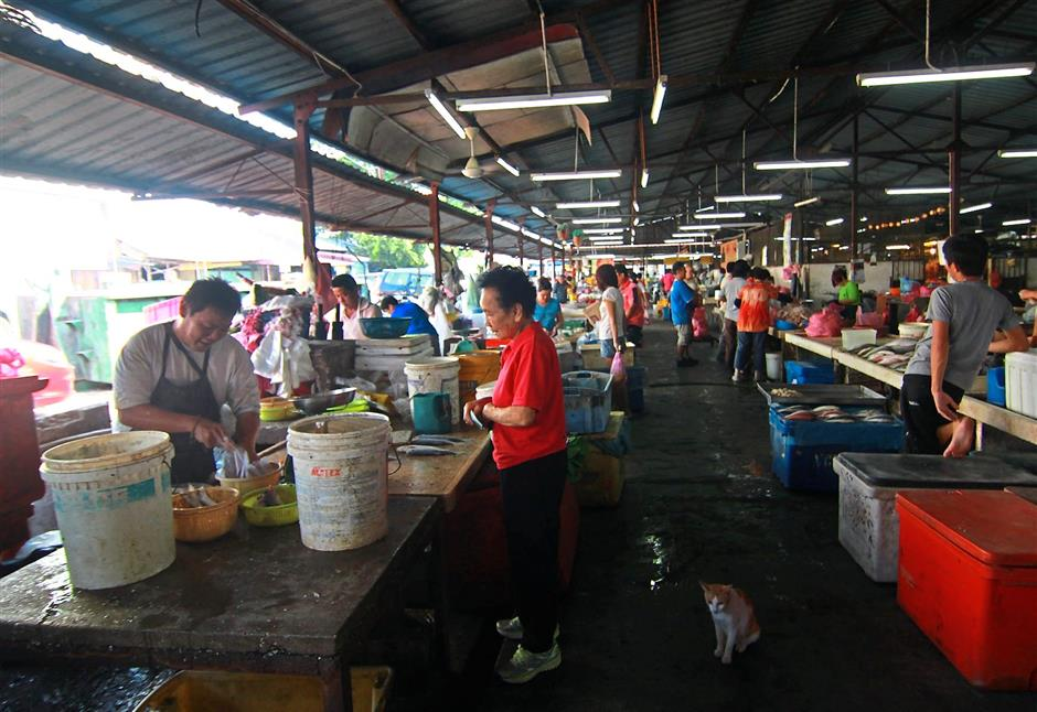 The Pasir Pinji wet market has been in its present location for about 40 years. – filepi