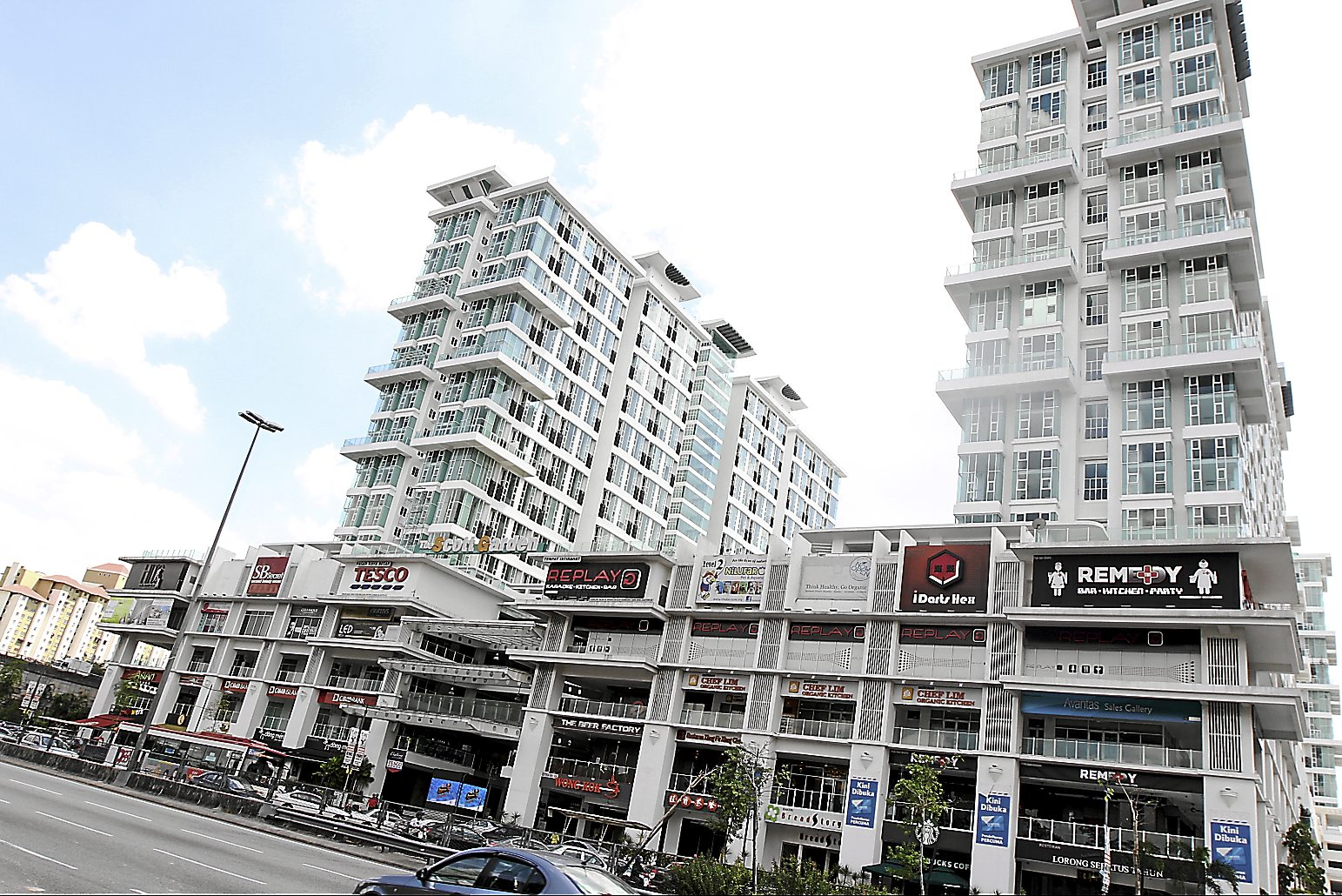 The Scot Garden Old Klang Road is yet to be completed. Planners predict the congestion will worsen once it is fully occupied by tenants and owners.