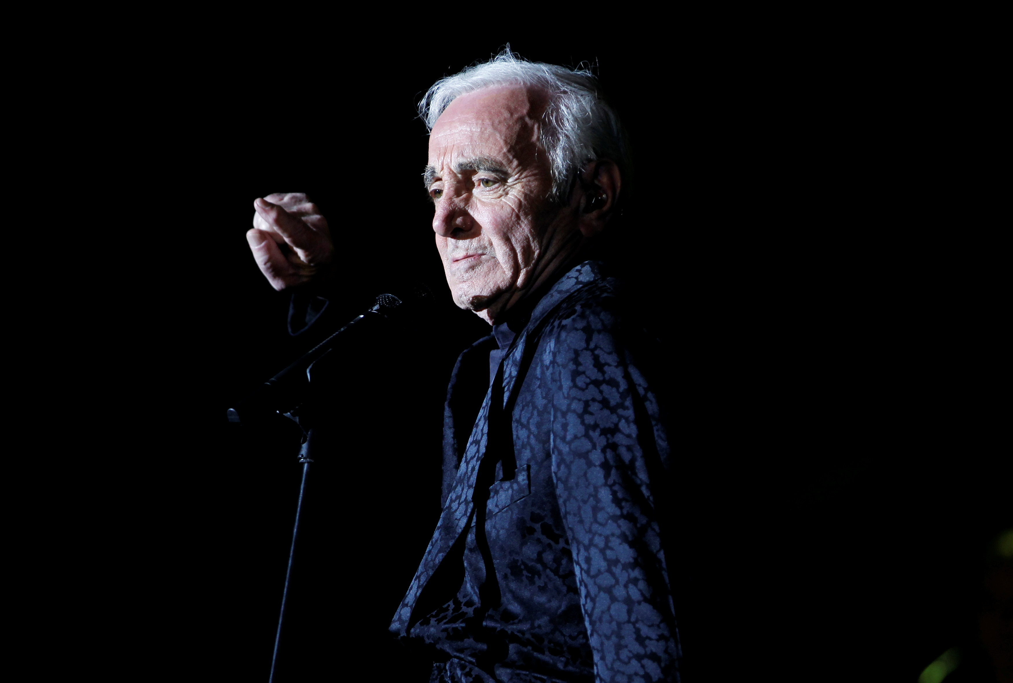 Charles Aznavour, beloved French crooner, dies at 94 | The