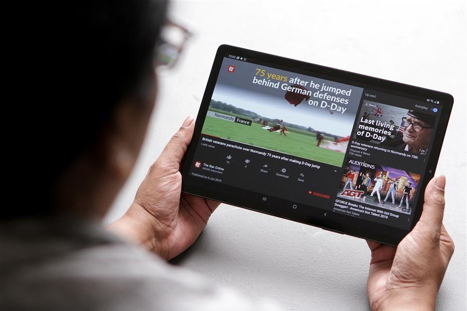 Galaxy Tab S5e: Slim, sleek and speedy | The Star Online
