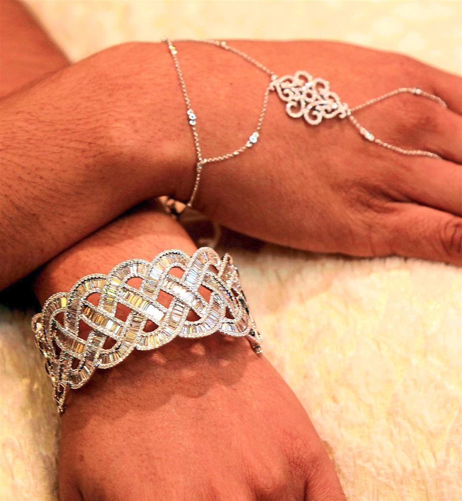 Examples of the company's jewellery designs.