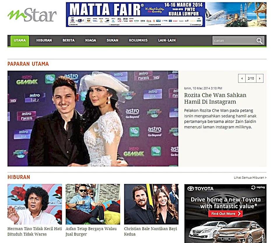 The Star's mStar Online updated with breezier look | The Star Online