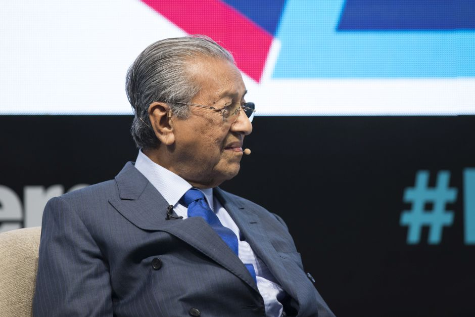 Dr Mahathir at the Bloomberg Asean Business Summit in Bangkok, Thailand, on Friday, June 21, 2019. u2013 Bloomberg