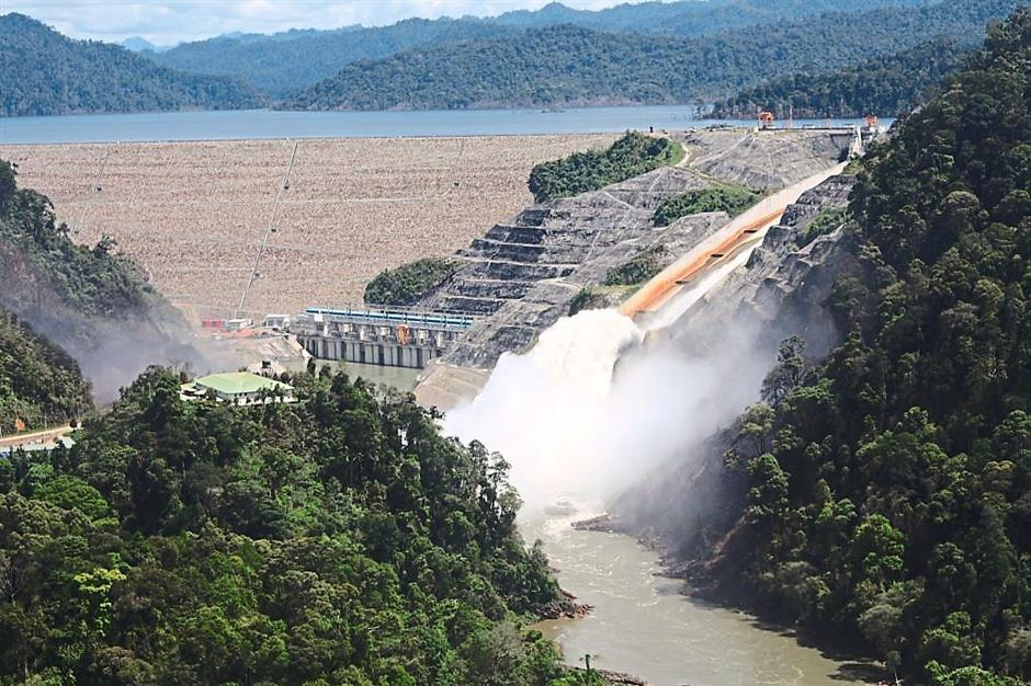 Engineering marvel: Construction of the Bakun Dam, the biggest in the region, finished in December 2010 and power generation began in October 2011.