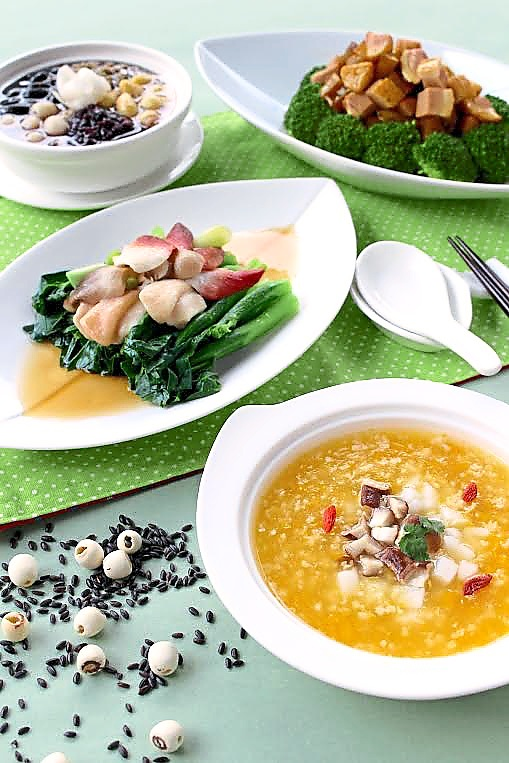 Healthy food promotion at Zuan Yuan, One World Hotel Petaling Jaya.