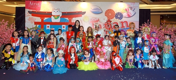 Participants had a fun time dressing up as their favourite cosplay characters and performing on stage.