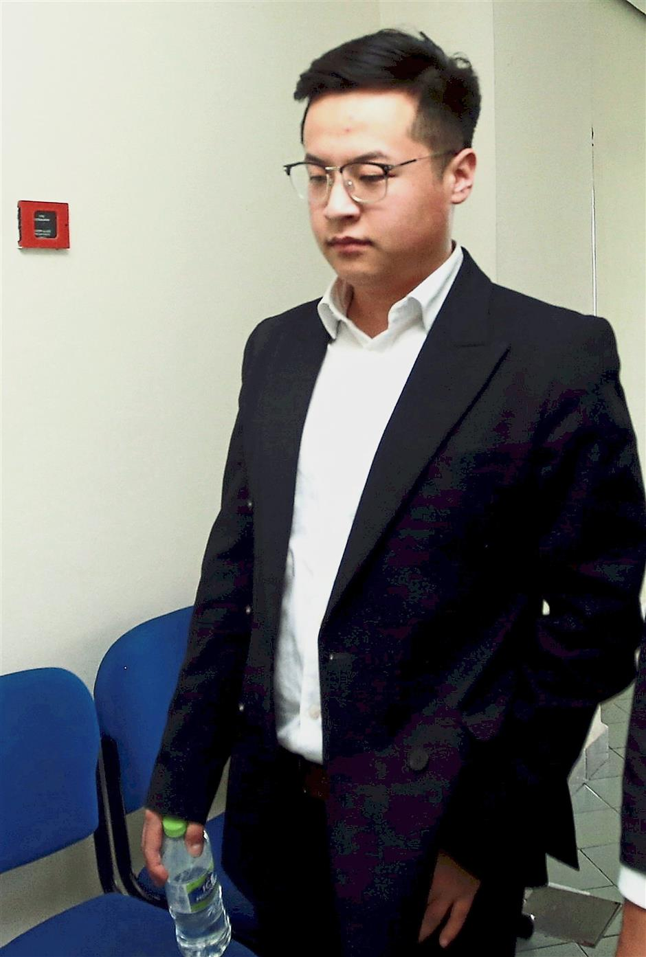 Bayarkhuu Bayarjargal, 21, who told a civil suit hearing at the High Court here on Wednesday (Jan 30, 2019) that he changed his name from Mungunshagai Bayarjargal, after his mum Altantuya Shaariibuu died. He was nine then.