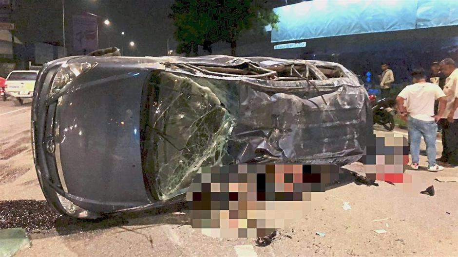Teenager killed in car crash on her way to school | The Star Online