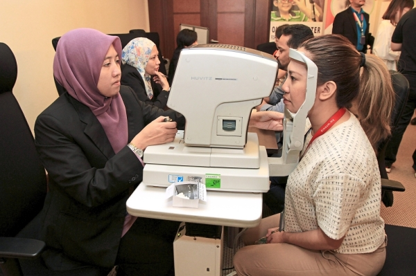 Eye checks and consultation were also available during the open day.