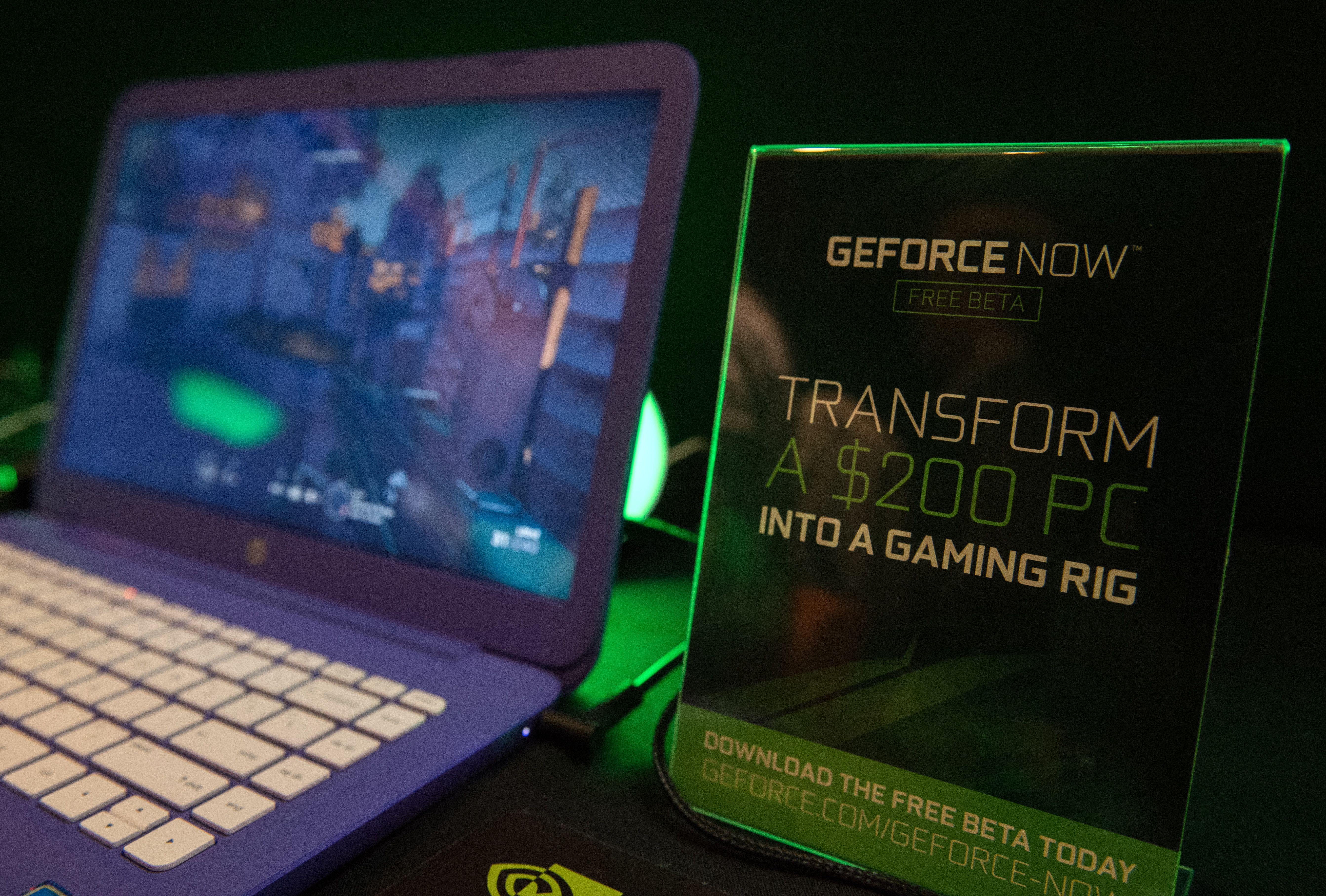 Nvidia's GeforceNow game streaming platform being trialled