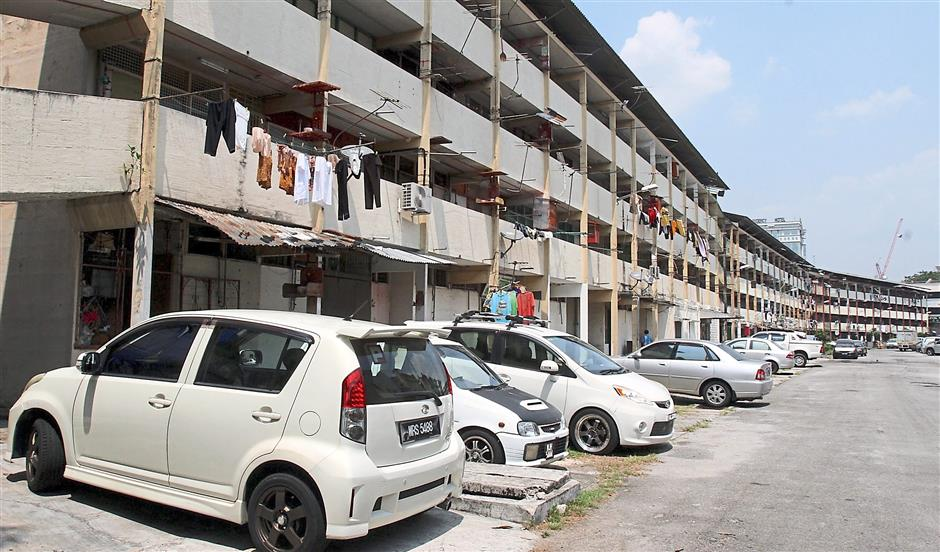 Decades old property: Talk on the redevelopment of the 17-block flats had started in the 1990s, and it has been brought up numerous times by previous mayors,