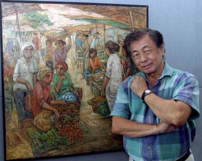 <b>Grassroots:</b> The late Tew Nai Tong said his works were most often inspired by his frequent travels to remote areas both locally and in the neighbouring countries.