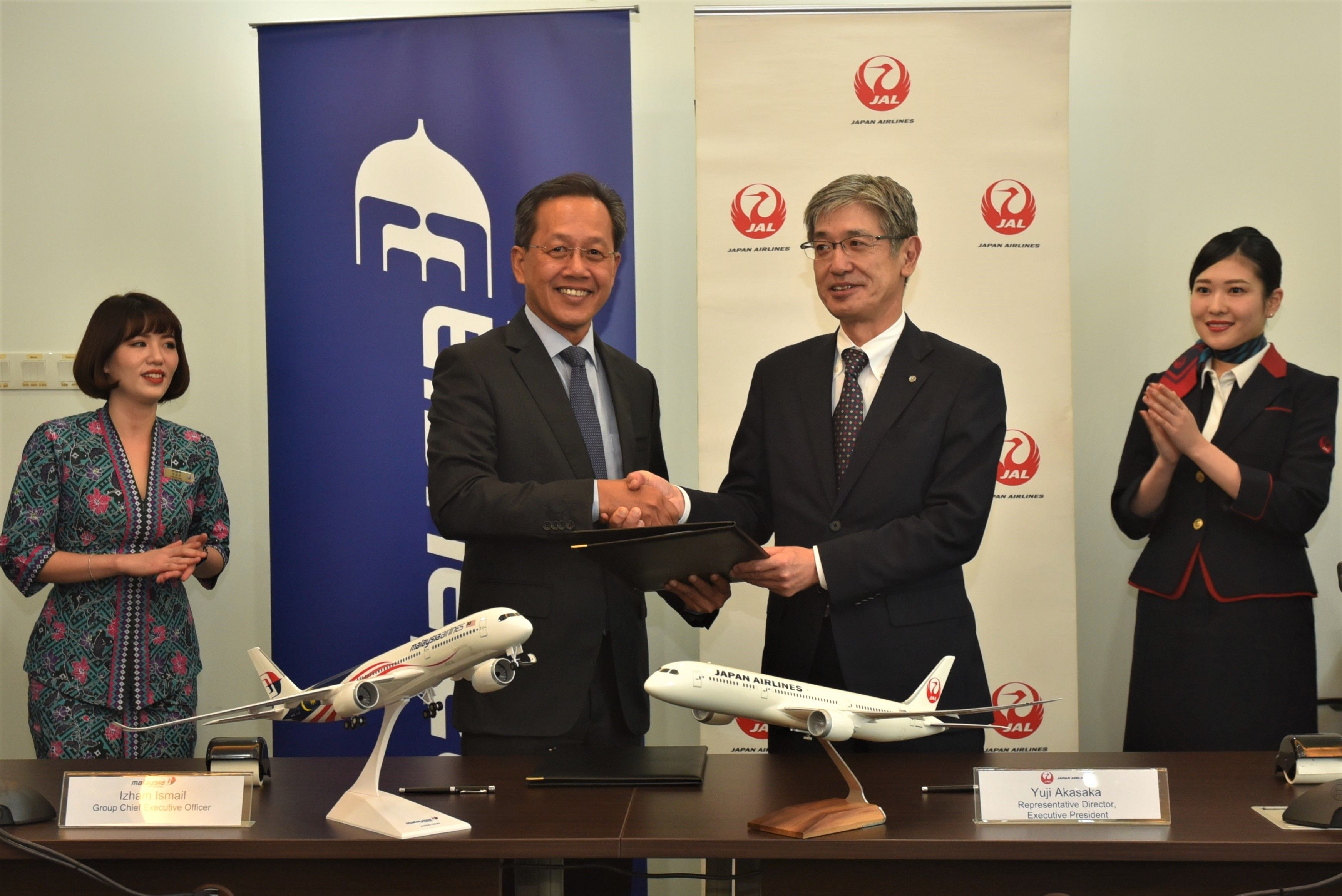 Malaysia Airlines, JAL ink joint business agreement | The Star Online