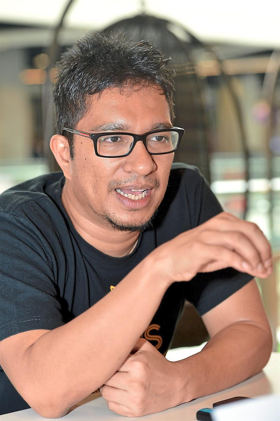 Amir is realising a long-held dream with Kedai Fixi. Photo: RAJA FAISAL HISHAN/The Star