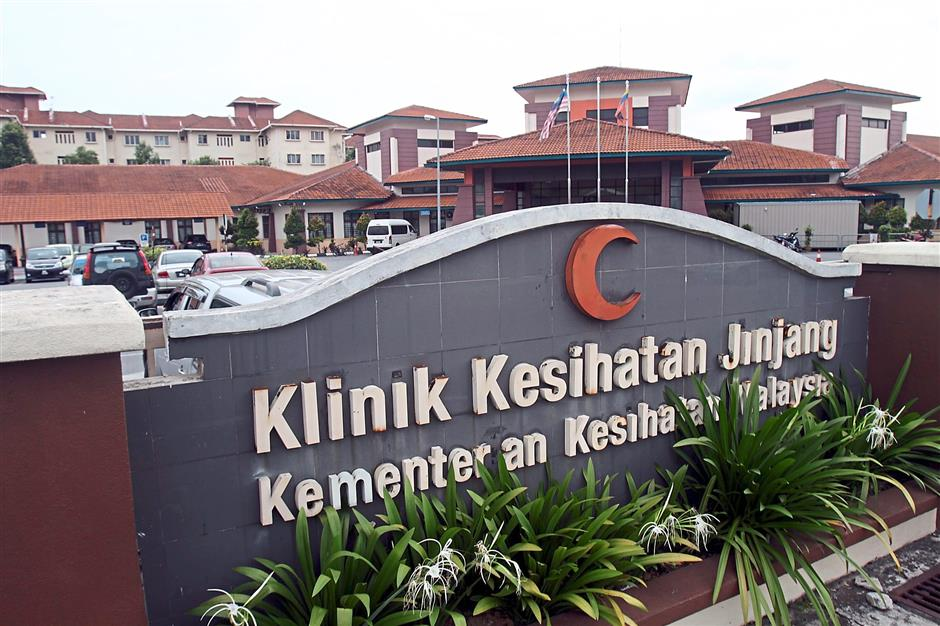 Health needs provided: The public clinic in Jinjang is said to be the largest in Kuala Lumpur.