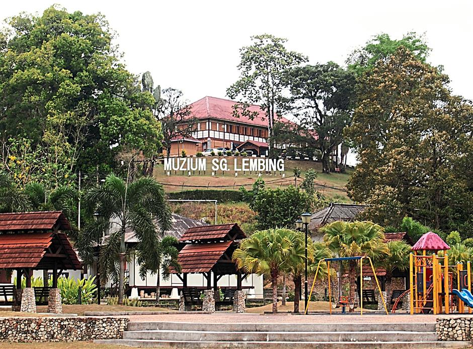 The former PCCL general manager's residence is now the Sungai Lembing Museum.