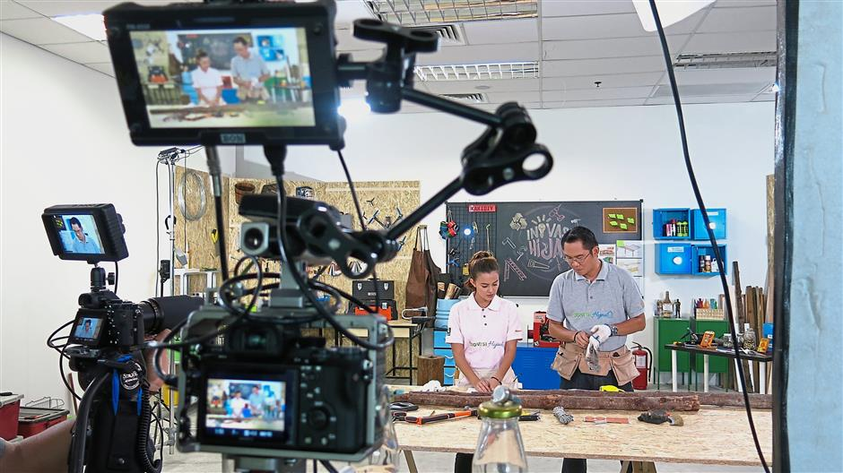 KakiDIY will be launching a 13-episode series on RTM to encourage the DIY and upcycling culture.