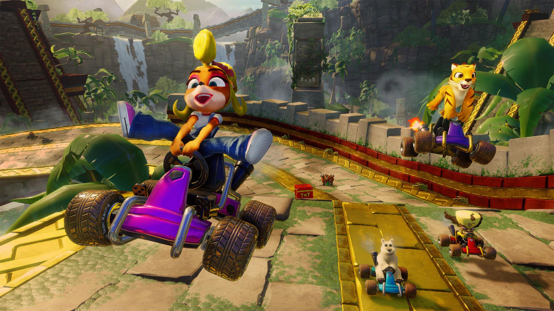 New 'Crash Team Racing' overtakes 'Sonic Racing' as the