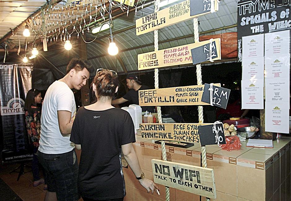 What started as a food truck idea soon evolved into a hybrid warong that serves simple Mexican food.
