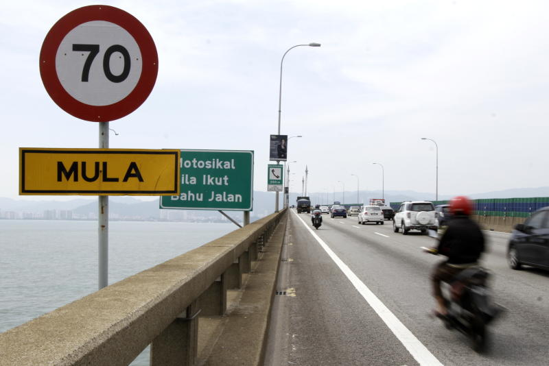 Motorcyclist killed in accident on Penang Bridge | The Star Online
