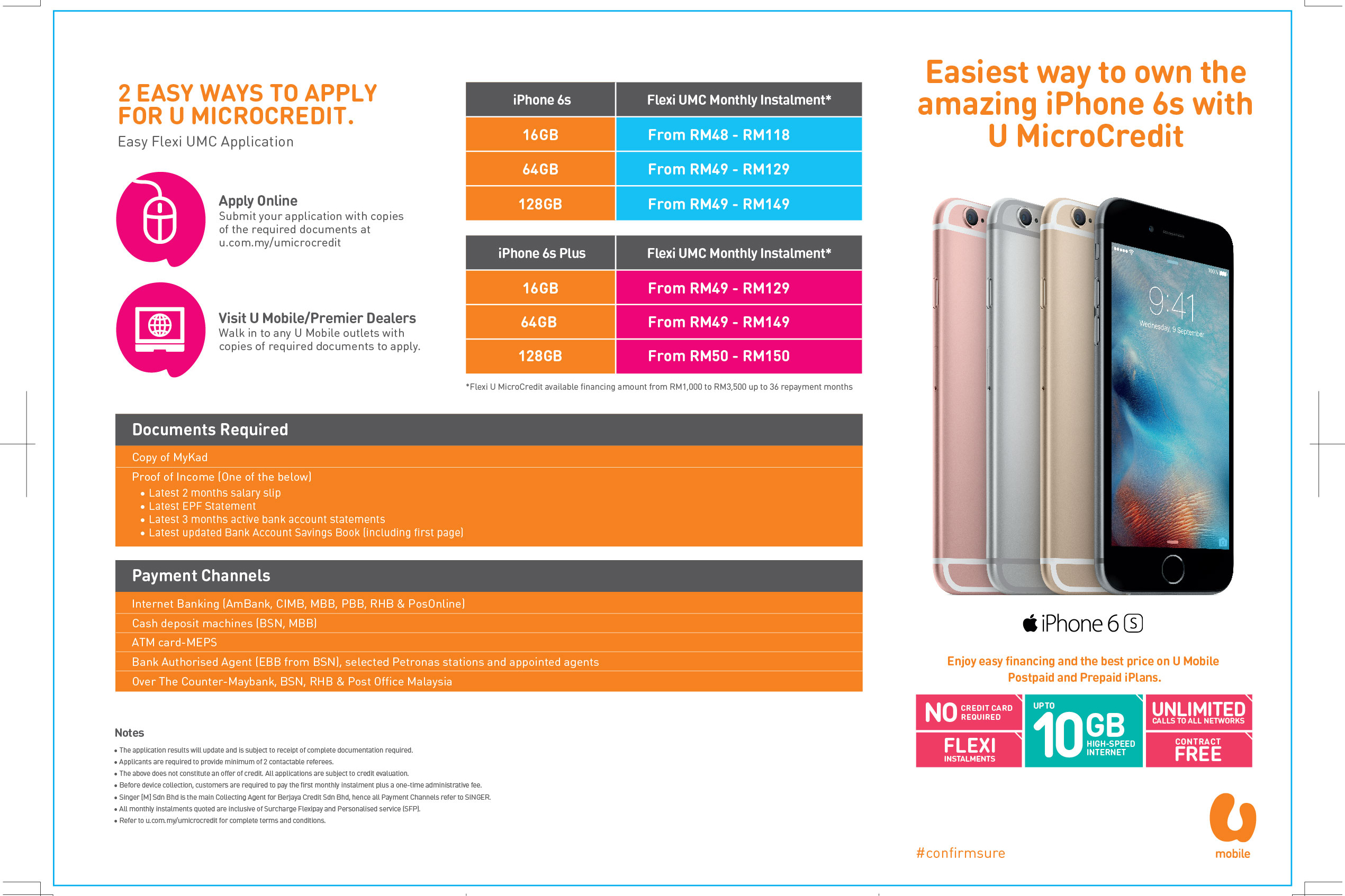 U Mobile: Mystery gifts and free phones awaits iPhone 6s and 6s