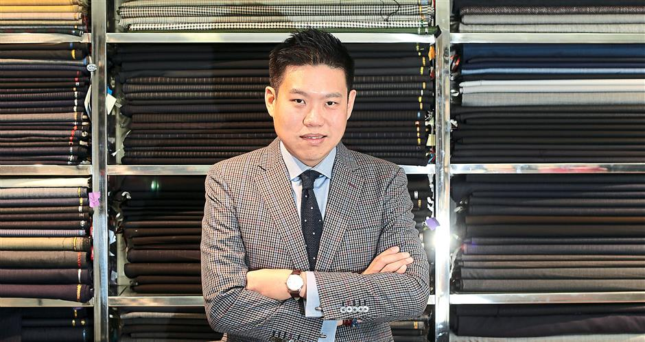 'With social media, most of my customers are very much in the know when it comes to fashion,' says creative director of Lord's Tailor, Loh, on keeping up with trends.
