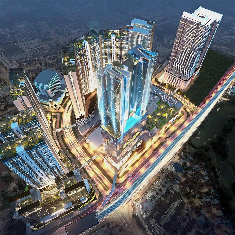 RM9bil project: Wide-angle view of the PICC project. Located at Bayan Baru, it has a gross development value of about RM9bil.