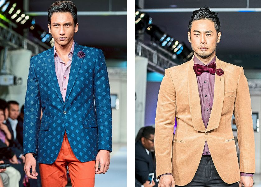 Modern, well-tailored suits can come in different cuts, designs and colours.