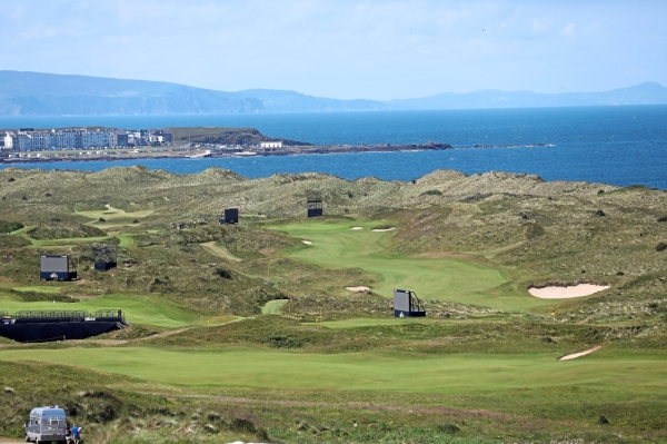 The Dunluce Links course at Royal Portrush in Northern Ireland will host the British Open for the first time in  68 years.