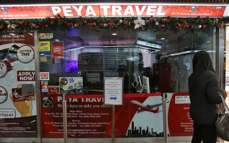 Police arrests co-owner of Hong Kong travel agency that left