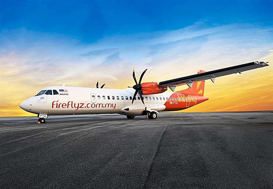 Blue skies: Firefly has rolled out its Mobile Booking facility and Empty Seat Option to expand its services to customers.