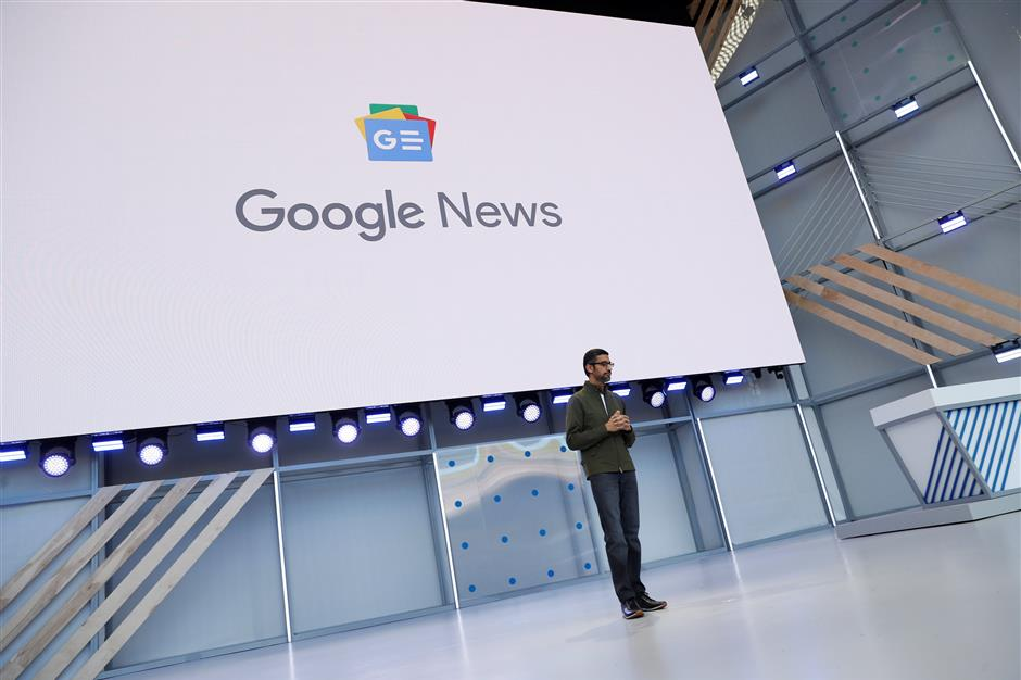 Google pushes artificial intelligence for upgraded news app   The