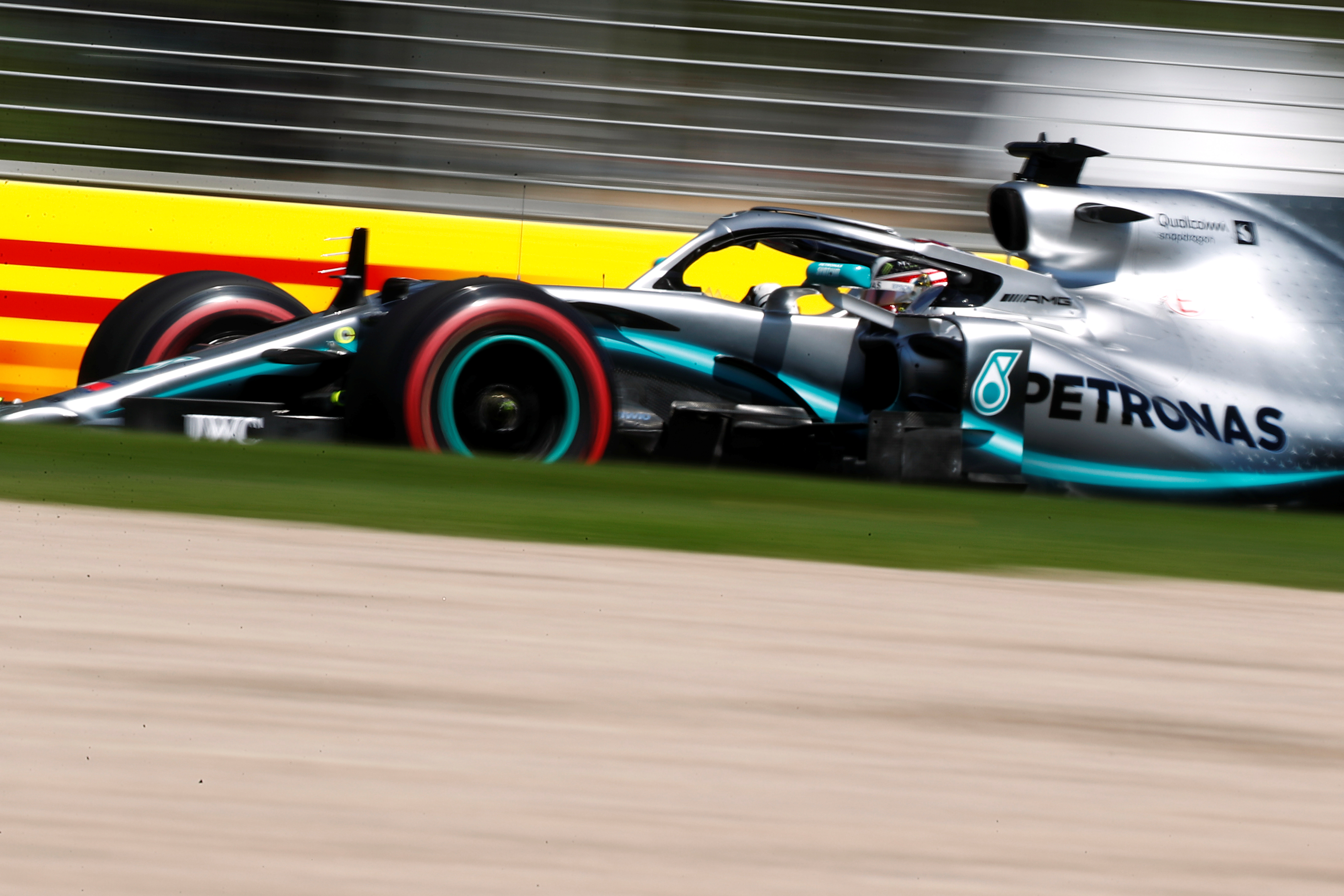 Hamilton tops timesheets in first free practice   The Star