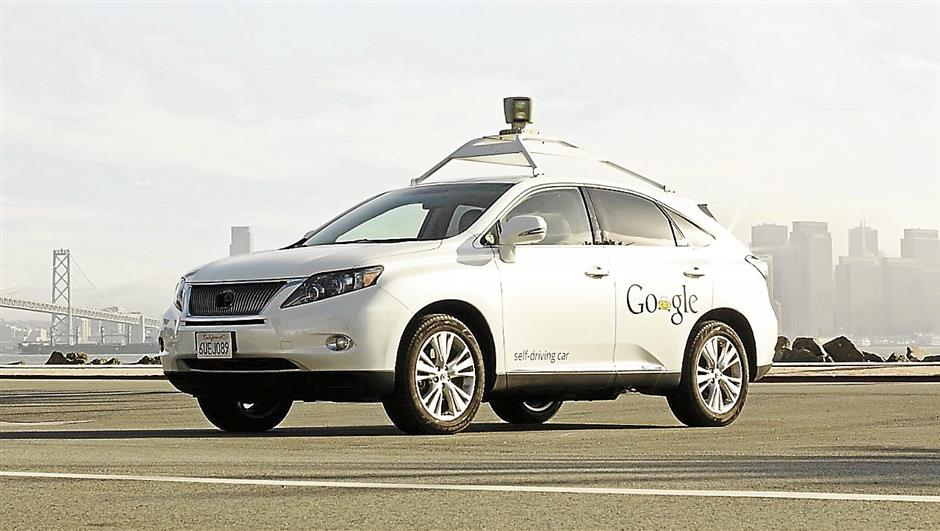 New horizons: Google hopes to help prevent traffic accidents, ensure better time usage and reduce carbon emissions through developing self driving cars under the Google Chauffeur project. FOR BYTZ USE ONLY.