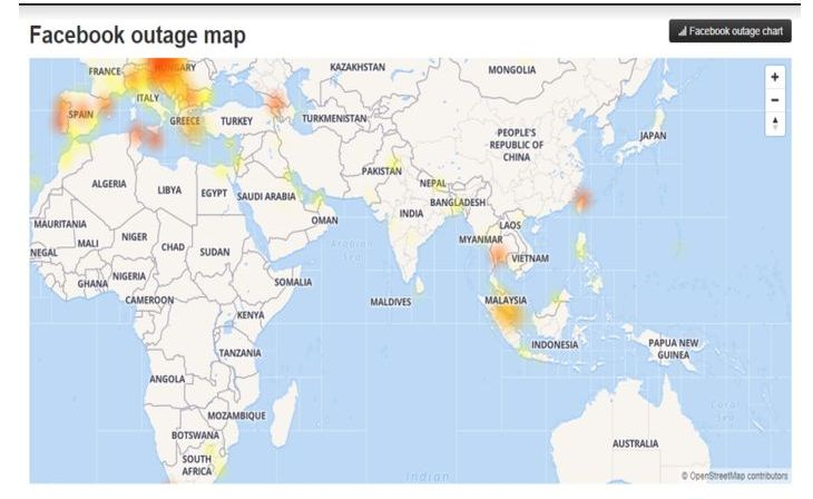 Facebook, WhatsApp and Instagram facing worldwide outage | The Star