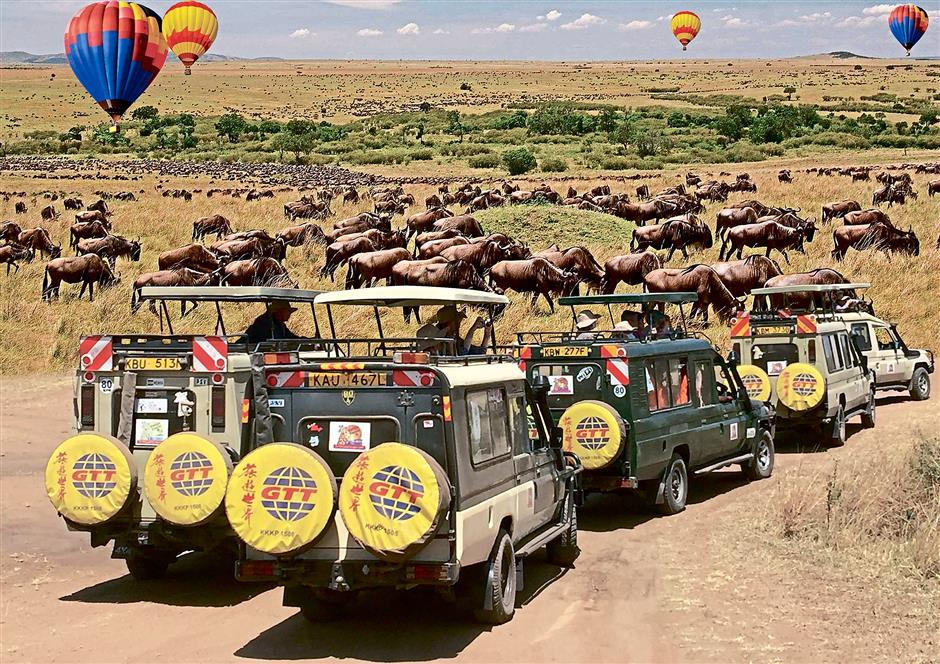 Take a ride on the wild side and catch a glimpse of the wild animals in their natural habitats in breathtaking Kenya.