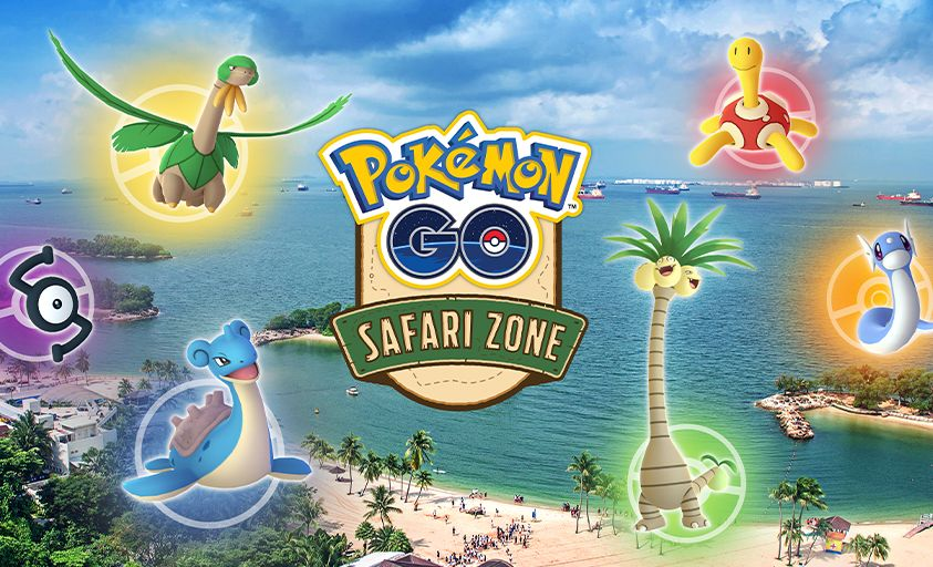 Pokémon Go's first Safari Zone in SEA will be in Singapore