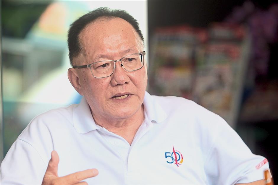 DAP party veteran Chia has been a member since 1978.