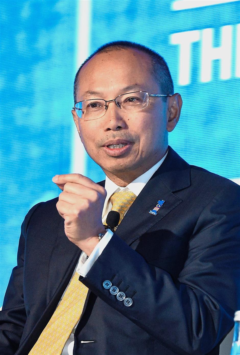 Tan Sri Abdul Wahid Omar speaking at Invest Malaysia 2018