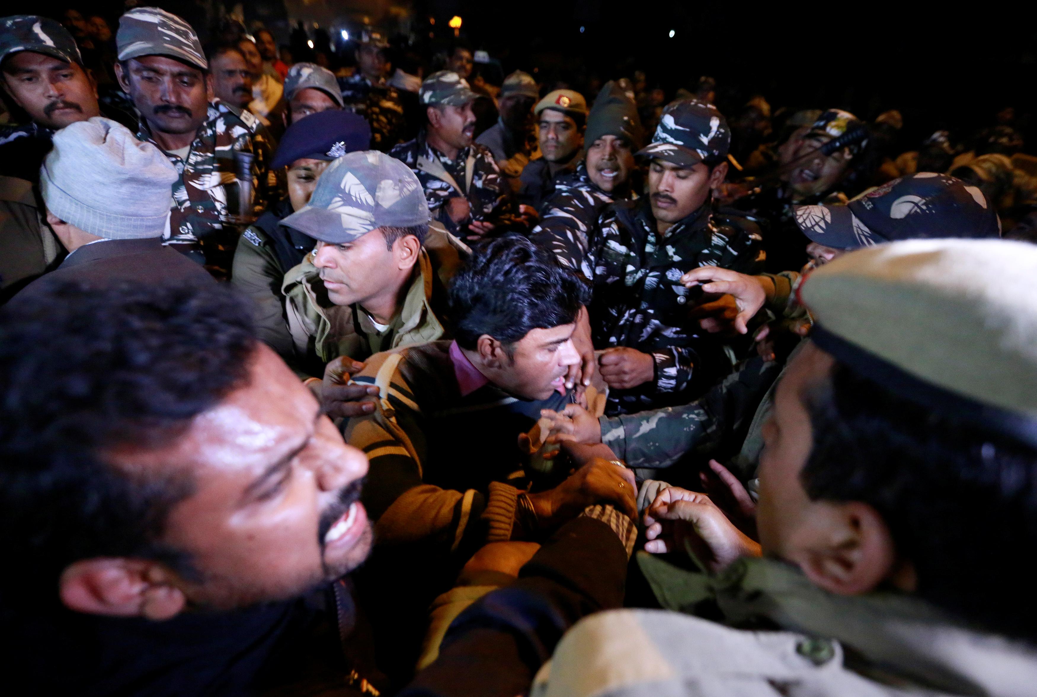 Third woman breaches ban at Indian Hindu temple amid protests | The