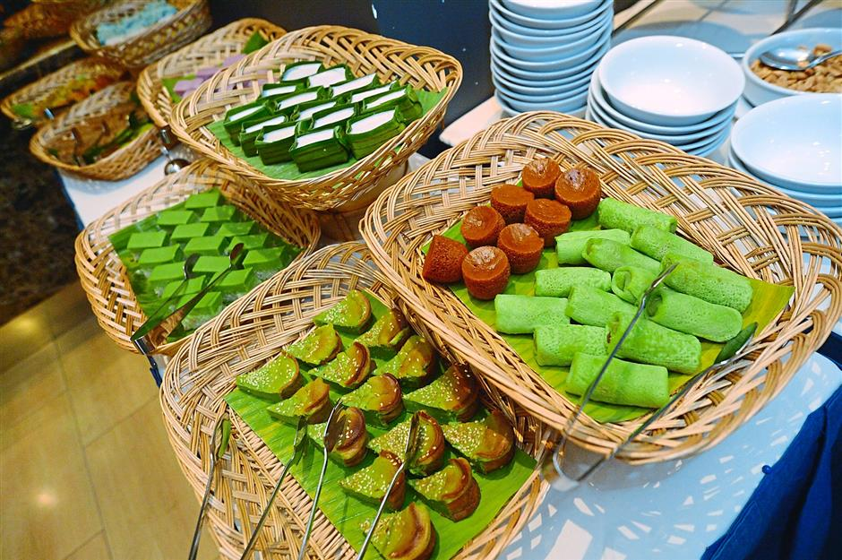There will also be a variety of local kuihs including Kuih Lapis and Kuih Keria.