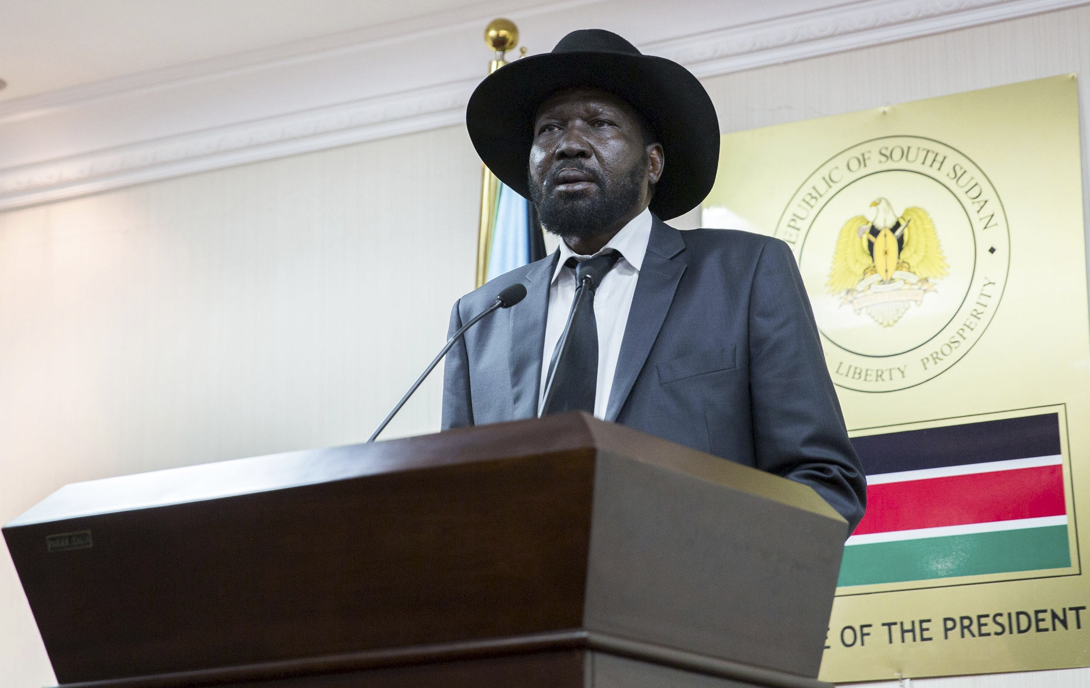 South Sudan rebel leader on way to meet president - rebel