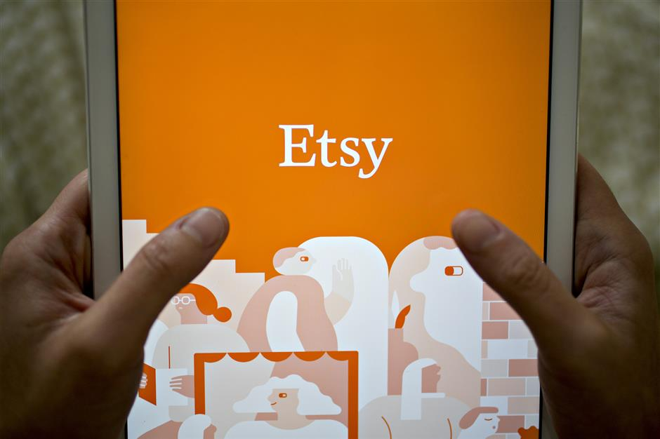 The Etsy Inc. application is displayed for a photograph on an Apple Inc. iPad in Washington, D.C., U.S., on Saturday, Nov. 4, 2017. Etsy is scheduled to release earnings figures on November 6. Photographer: Andrew Harrer/Bloomberg