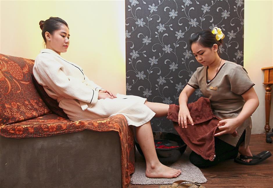 Local niche: The company's key selling point is in promoting lesser-known Malaysian wellness treatments.