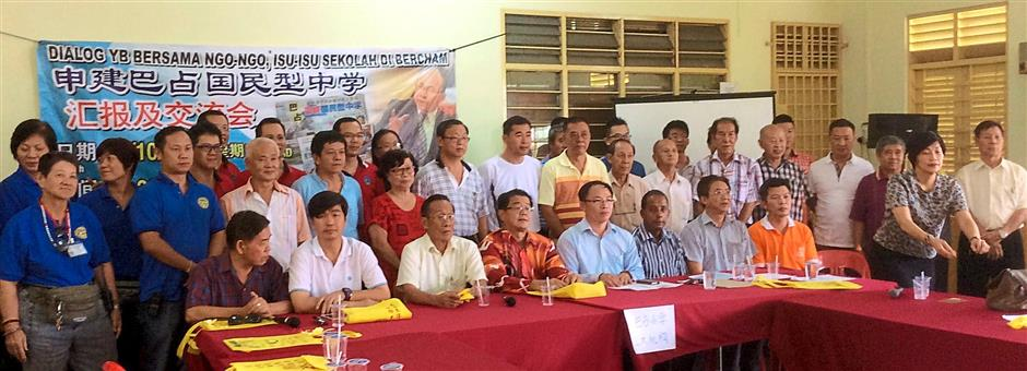 NGOs, Chinese groups, Bercham residents and parents are unanimous in seeking a Chinese secondary school in Bercham.