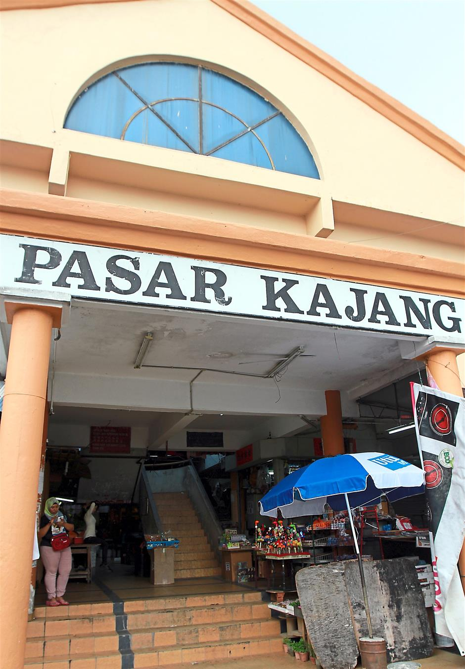 The Kajang wet market, where everything is available in the two-floor building.
