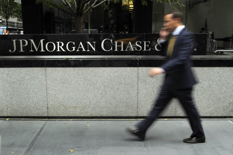 JPMorgan is top of the pile of too-big-to-fail banks along with HSBC in the list compiled by the Financial Stability Board last year to determine which banks pose a threat to the global economy if they were to fail - AFP Photo.