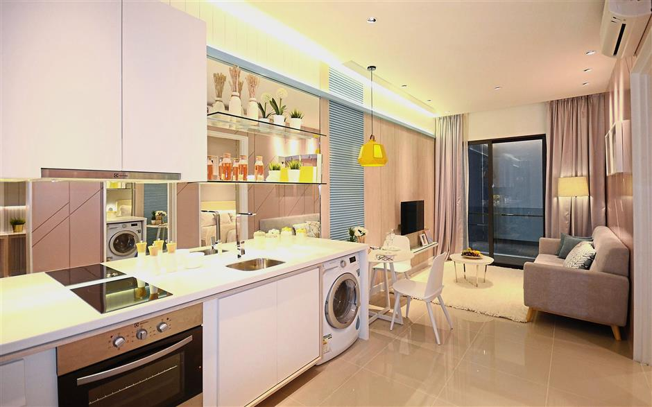South Link Lifestyle Apartments offers buyers a warm and cosy living space.
