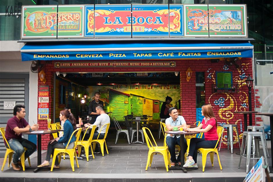 La Boca Cafe, authenthic Latin American cafe at the Life Centre offers dazzling flavours and the vibrant cultures of Latin America.